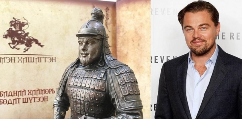 Leonardo Di Caprio to be sculpted as Mongol warrior