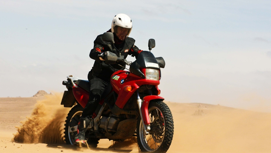Ride through South Gobi